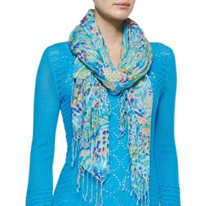 Lilly Pulitzer Murfee Scarf in Sea Soiree